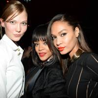 Karlie Kloss, Rihanna and Joan Smalls