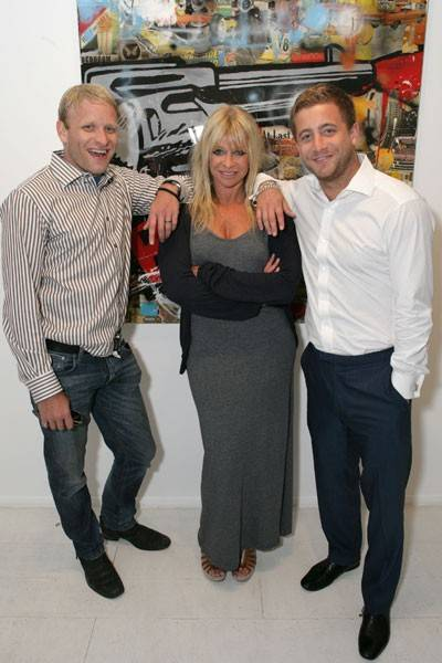 Jamie Wood, Jo Wood and Tyrone Wood