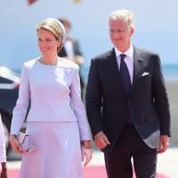 Queen Mathilde of Belgium, 2014.