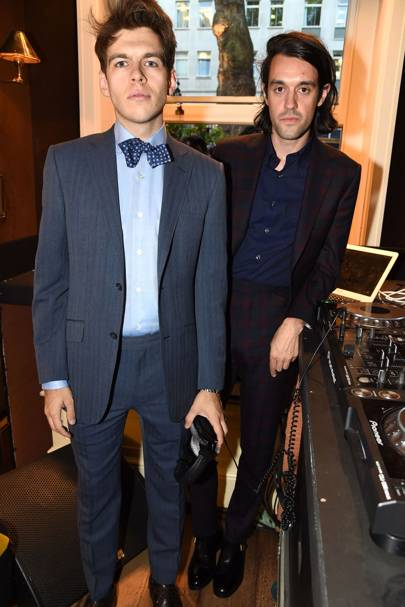 James Righton and Simon Taylor-Davis