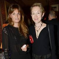 Jemima Khan and Justine Picardie