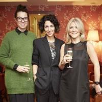 Jemma Dyas, Yasmin Sewell and Cheryl Joannides