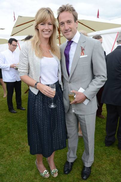 Marina Fogle and Ben Fogle