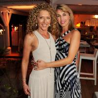 Kelly Hoppen and Assia Webster