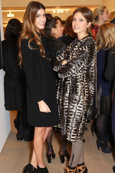 Bianca Brandolini and Dasha Zhukova