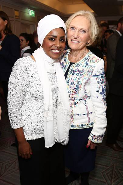 Nadiya Hussain and Mary Berry