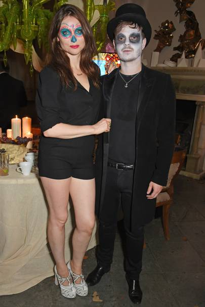 Sophie Ellis-Bextor and Richard Jones