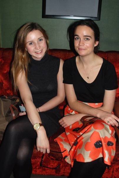 Olivia Bennett and Anna Timoney