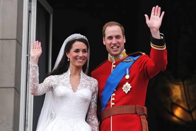 El duque y la duquesa de Cambridge celebrarán su décimo aniversario en abril de 2021.