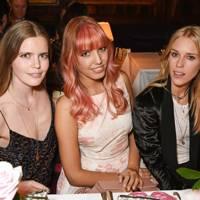 Katie Readman, Amber Le Bon and Mary Charteris