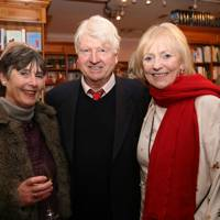 Julia Bright, Stanley Johnson and Lady Hannam