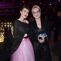 Arta Dobroshi and Meryl Streep