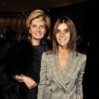 Sabina Belli and Carine Roitfeld