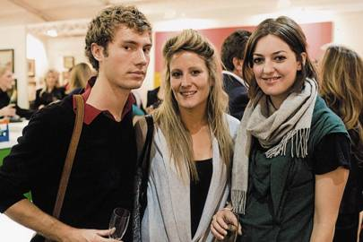 Adam Partridge, Libby Hickman and Augusta Pownall