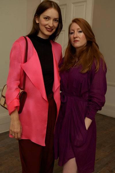 Roksanda Ilincic and Sarah Shotton