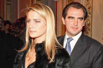 Tatiana Blahnik and Prince Nikolaos of Greece