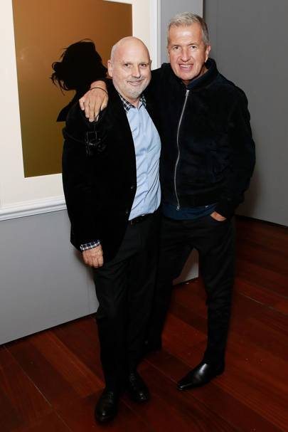 Sam McKnight and Mario Testino