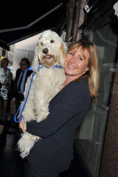 Penny Goldsmith and Mutley