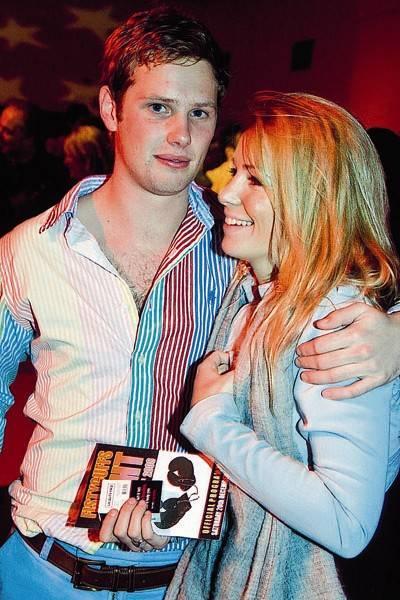 Oliver Wilson and Anneke von Trotha Taylor