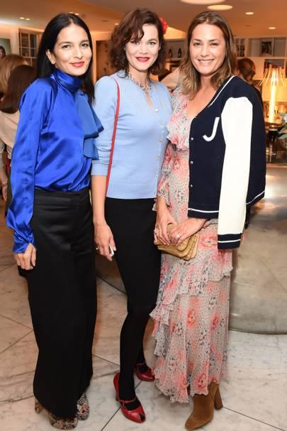 Yasmin Mills, Jasmine Guinness and Yasmin Le Bon