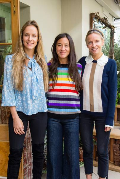 Hum Fleming, Madeleine Thompson and Martha Ward