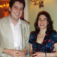 Sam Leith and Esther Freud