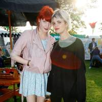 Florence Welch and Pixie Geldof