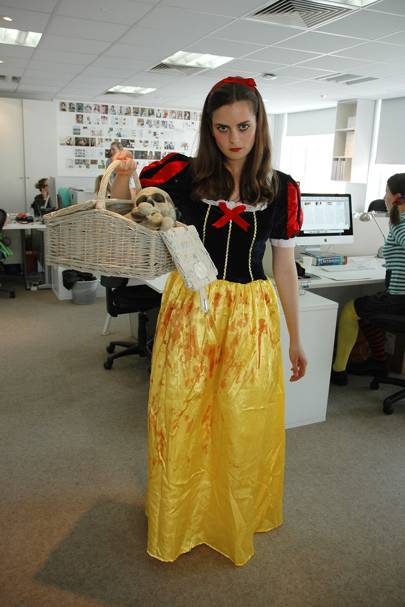 Annabelle Spranklen as Snow Fright and Severed Dwarves