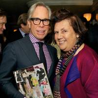 Tommy Hilfiger and Suzy Menkes