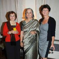 Pauline Macaulay, Babli Sharma and Brigid McConville