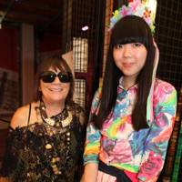 Hilary Alexander and Susie Bubble