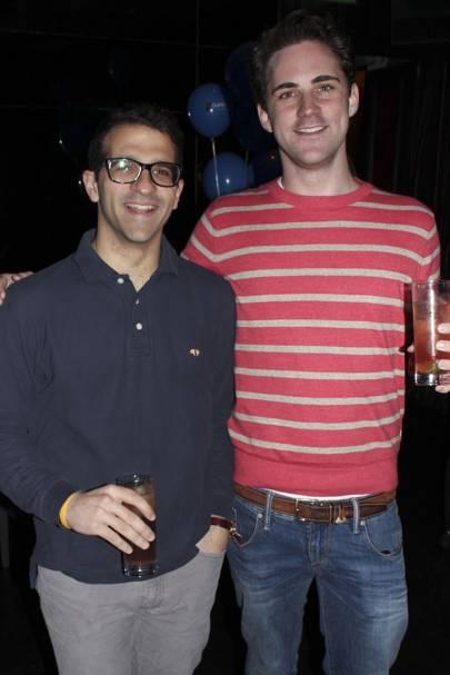 Alex Mirarchi and Ollie Rayburn