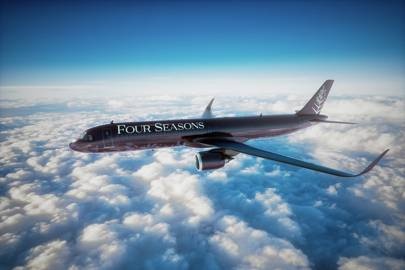 The Four Seasons Private Jet is getting a makeover
