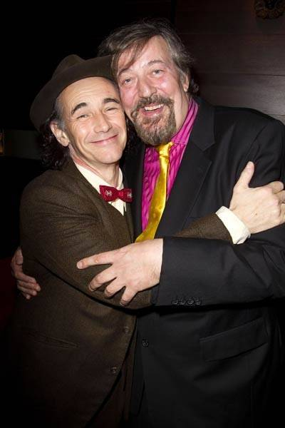 Mark Rylance and Stephen Fry