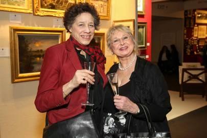 Elise Ormerov and Wendy Harman