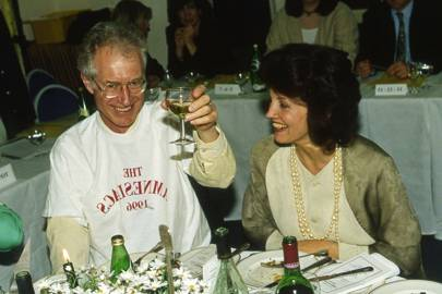 Bamber Gascoigne and Mrs Simon Jenkins