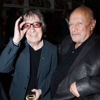 Bill Wyman and Steven Berkoff