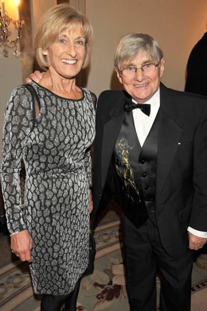 Elaine Carson and Willie Carson