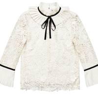 Lace blouse, £79.99