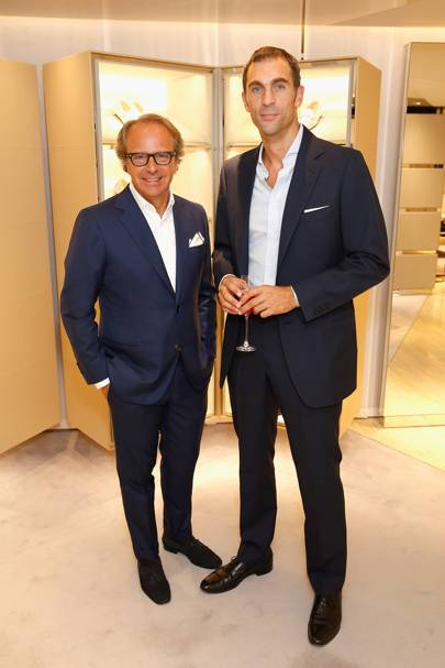 Andrea Della Valle and Hugh van Cutsem