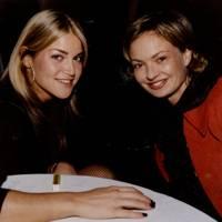 Milica Kastner and Countess Maya von Schonburg