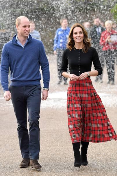 The Duke and Duchess of Cambridge reveal Kensington Palace Christmas decorations