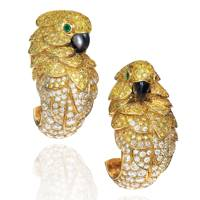 Les Oiseaux Libérés earrings by Cartier