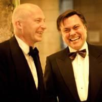 Professor Marcus du Sautoy and Chris Pope