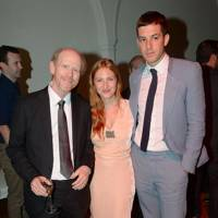 Ron Howard, Josephine de La Baume and Mark Ronson