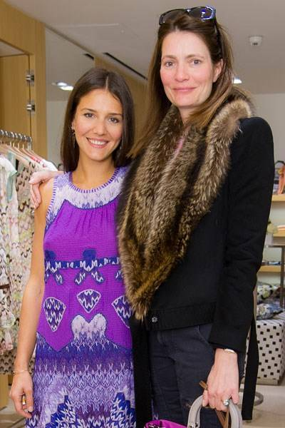 Margherita Missoni and Plum Sykes