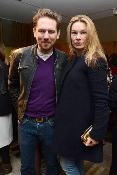 Rupert Sanderson and Pippa Vosper