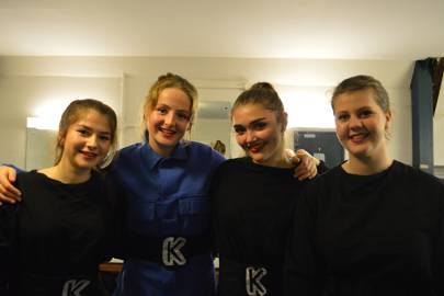 Abigail Clark, Emily Rash, Jemma Luck and Louisa Dixey