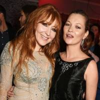Charlotte Tilbury and Kate Moss