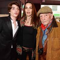 Sascha Bailey, Catherine Bailey and David Bailey